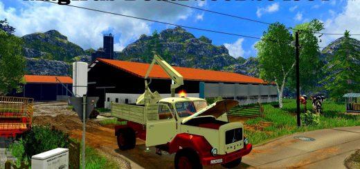 Прицепы для Мод-пак грузовиков Magirus для Farming Simulator 2015
