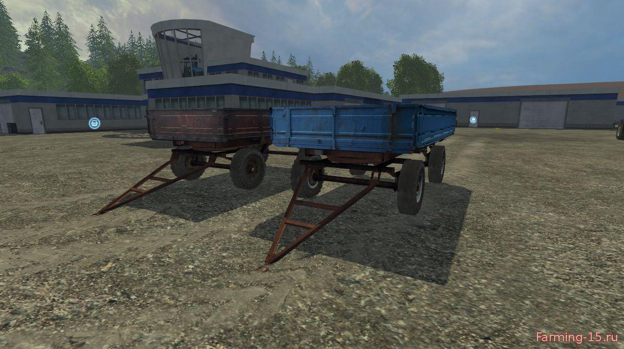 Прицепы для Мод-пак прицепов 2ПТС4 v2 для Farming Simulator 2015