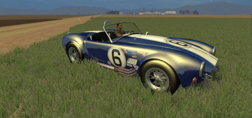Машины для Мод-пак машин Shelby Cobra v2.0 для Farming Simulator 2015