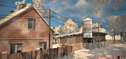 Карты для Карта Зима «Typowa Polska Wieś v3.0» для Farming Simulator 2015