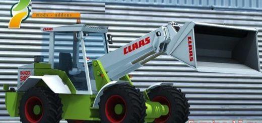 Погрузчики для Мод погрузчик CLAAS Ranger 940 для Farming Simulator 2015