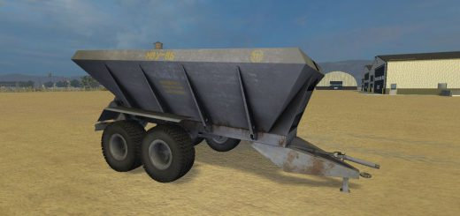 Техника для удобрений для Мод прицеп для внесения удобрений МВУ-8 v1.0 для Farming Simulator 2015