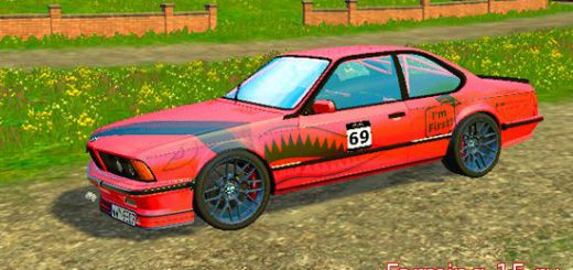 Машины для Мод машина BMW E24 M635 CSi для Farming Simulator 2015