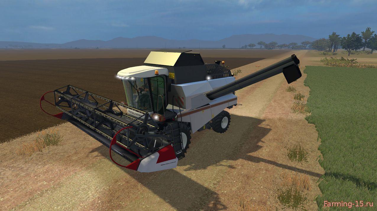 Русская техника для Мод комбайн Вектор 410 для Farming Simulator 2015