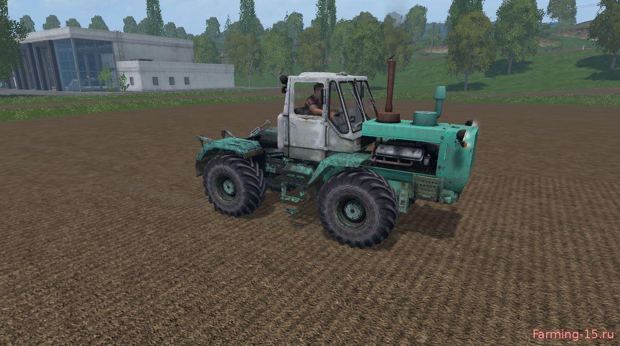 Русская техника для Мод трактор ХЗТ Т-150К для Farming Simulator 2015