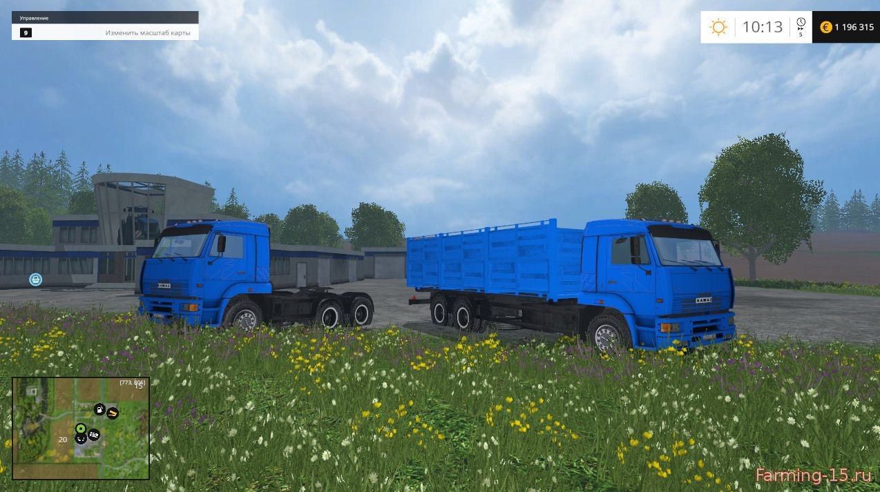 Русская техника для Мод-пак КамАЗ для Farming Simulator 2015