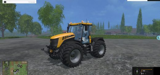 Тракторы для Мод трактор JCB FASTRAC 3230 v1.0 для Farming Simulator 2015