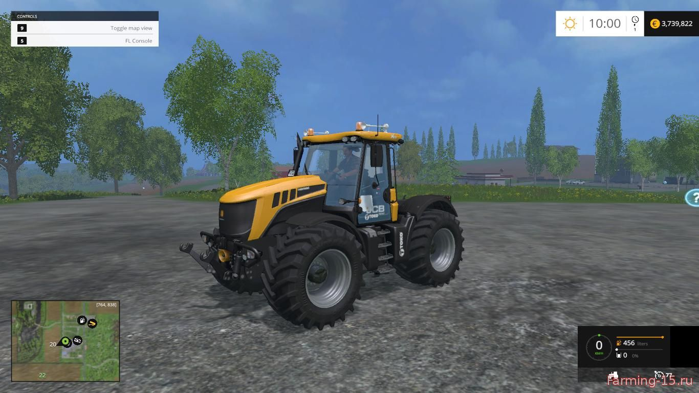 Тракторы для Мод трактор JCB FASTRAC 3230 v1.0 для Farming Simulator 2015