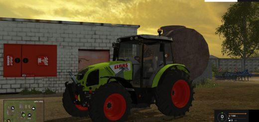 Тракторы для Мод трактор Claas Axos 340 CX FL для Farming Simulator 2015