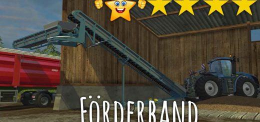 С/Х инвентарь для Мод ленточный погрузчик для Farming Simulator 2015