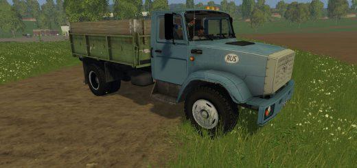 Русская техника для Мод грузовик ЗиЛ 4331 v1.0 для Farming Simulator 2015