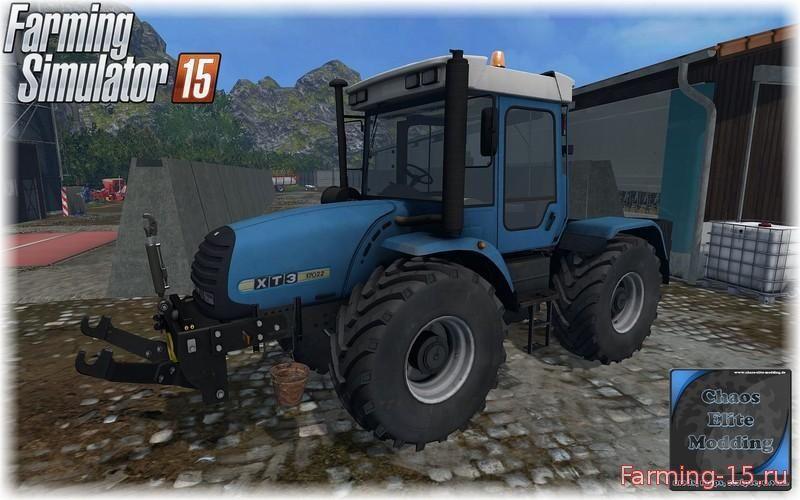 Русская техника для Мод трактор ХТЗ 17022 для Farming Simulator 2015
