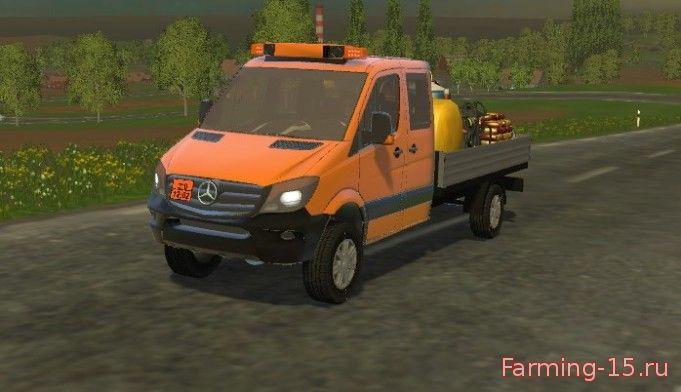 Машины для Мод машина Mercedes Sprinter 316 для Farming Simulator 2015