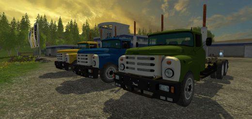 Русская техника для Мод грузовик ЗиЛ 133 v2 для Farming Simulator 2015