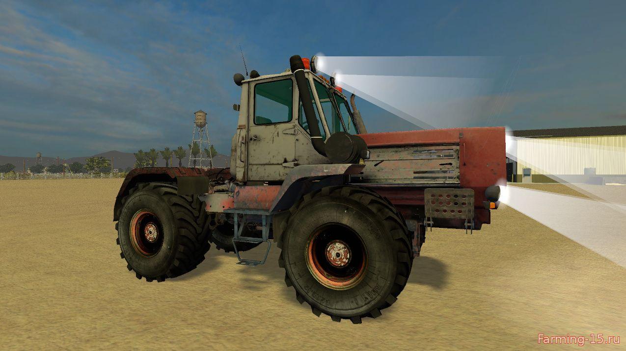 Тракторы для Мод трактор ХТЗ Т-150К Моющийся для Farming Simulator 2015