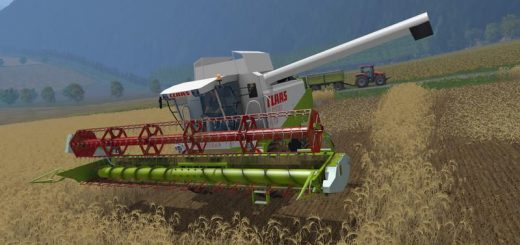Комбайны для Мод два комбайна Claas для Farming Simulator 2015