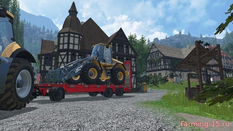 Прицепы для Мод прицеп для транспортировки техники для Farming Simulator 2015