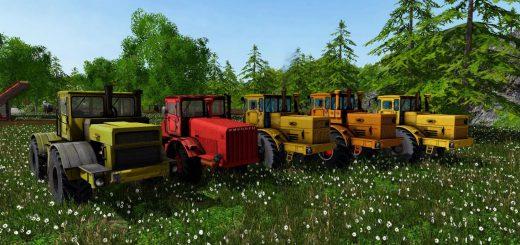 Русская техника для Мод-пак тракторов «Кировец» серии 700 для Farming Simulator 2015