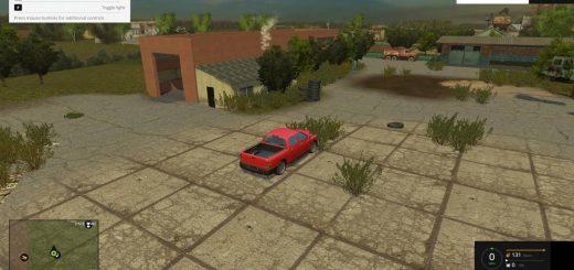 Русские карты для Карта «Деревушка» v2 для Farming Simulator 2015