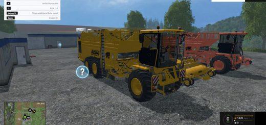 Комбайны для Мод-пак картофеле-свеклоуборочных комбайнов для Farming Simulator 2015