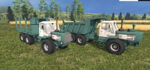 Русская техника для Мод-пак тракторов ХТЗ Т-150К для Farming Simulator 2015
