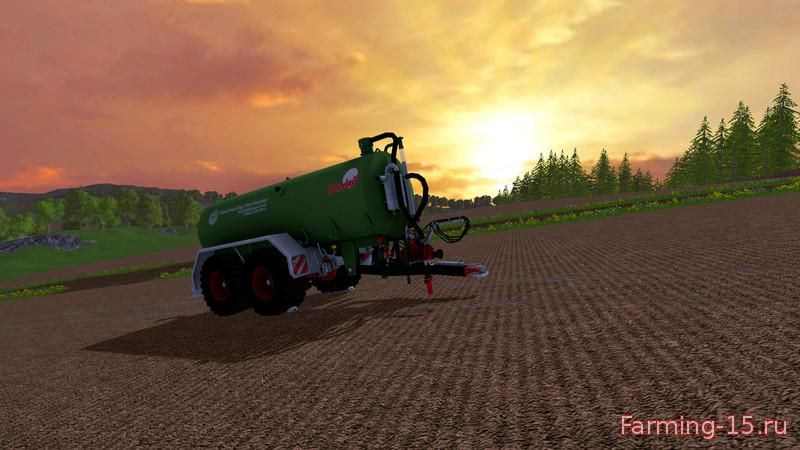 Техника для удобрений для Мод бочка для внесения жижи для Farming Simulator 2015