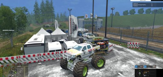 Машины для Мод машина «Monster Truck» v1.0 для Farming Simulator 2015