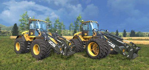 Погрузчики для Мод погрузчик JCB 435S Agri Edition v1.0 для Farming Simulator 2015