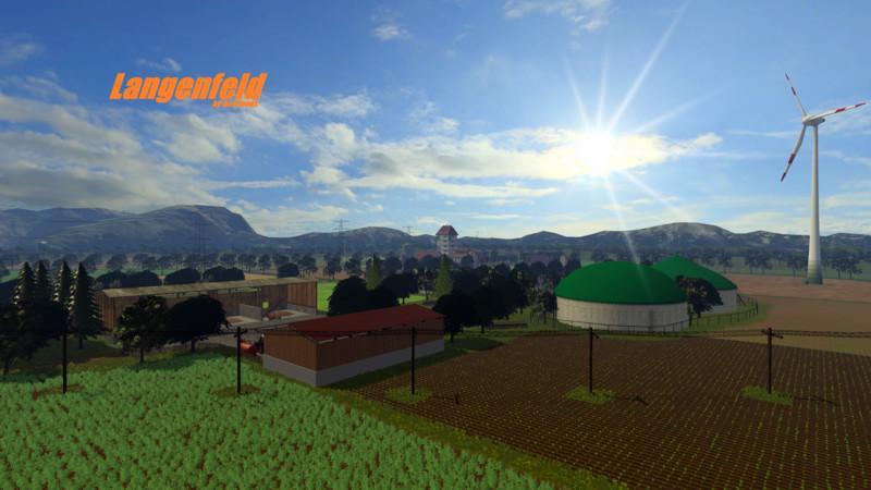 Карты для Карта Langenfeld v4.0 для Farming Simulator 2015