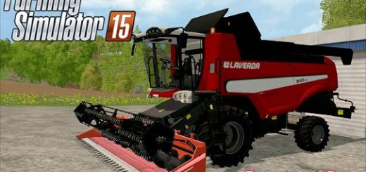 Комбайны для Мод комбайн LAVERDA M400LCI для Farming Simulator 2015