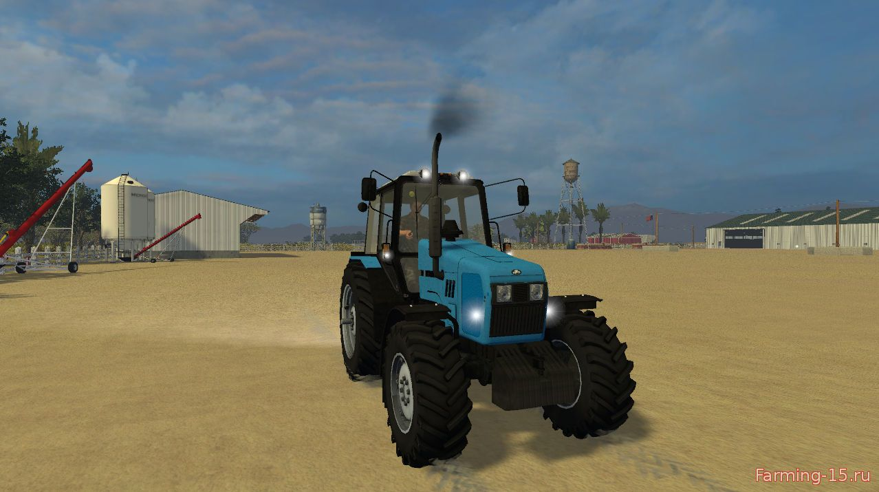 Русская техника для Мод трактор МТЗ 1221.2 для Farming Simulator 2015