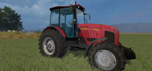 Русская техника для Мод трактор МТЗ 2022 v 1.0 для Farming Simulator 2015