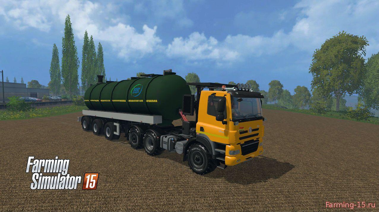 Грузовики для Мод-пак грузовик Tatra Phoenix v1.0 и прицепы для Farming Simulator 2015
