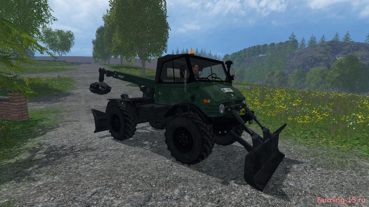 Погрузчики для Мод погрузчик Unimog Forest для Farming Simulator 2015
