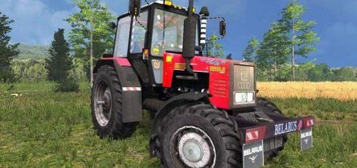 Русская техника для Мод трактор МТЗ 1221B2 Беларус v2.1 для Farming Simulator 2015