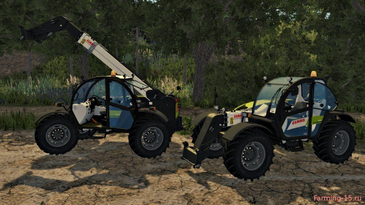 Погрузчики для Мод погрузчик CLAAS SCORPION 7044 V3 для Farming Simulator 2015