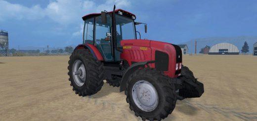 Русская техника для Мод трактор МТЗ 2022 для Farming Simulator 2015