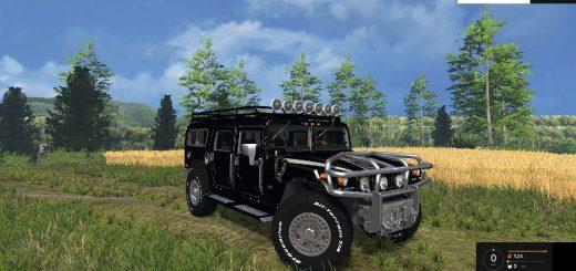 Машины для Мод машина Hummer H1 для Farming Simulator 2015
