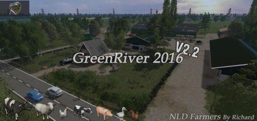 Карты для Карта Green River 2016 v2.2 для Farming Simulator 2015