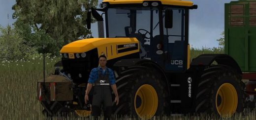 Тракторы для Мод трактор «JCB 4220 v1.0» для Farming Simulator 2015
