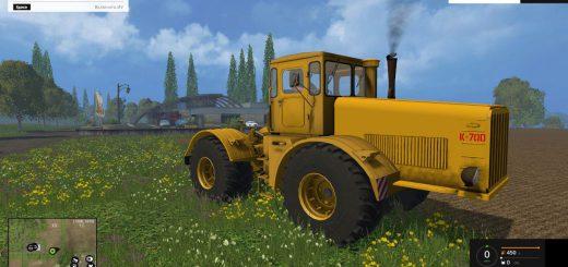 Русская техника для Мод трактор Кировец K700 для Farming Simulator 2015