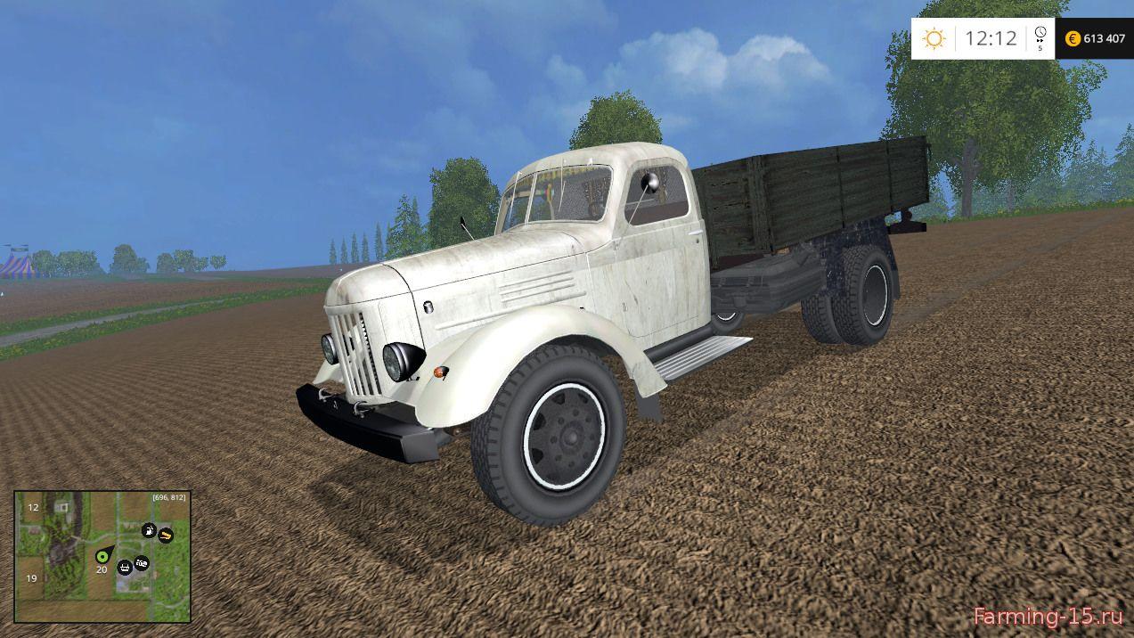 Русская техника для Мод грузовик ЗИЛ-164 для Farming Simulator 2015