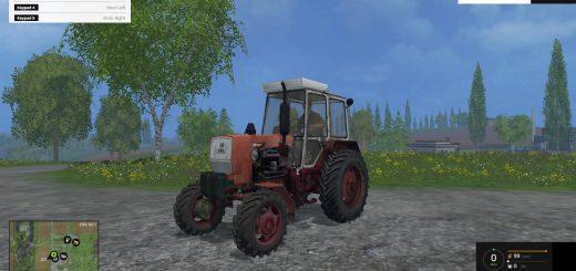 Русская техника для Мод трактор ЮМЗ 8271 для Farming Simulator 2015