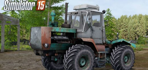 Русская техника для Мод трактор Т-150К для Farming Simulator 2015