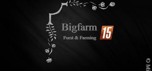 Карты для Карта BigFarm V1.0 для Farming Simulator 2015