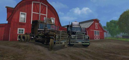 Грузовики для Мод грузовик Mack Rubber Duck для Farming Simulator 2015