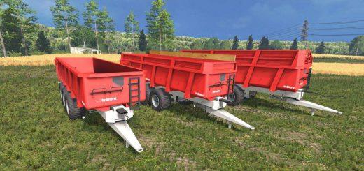Прицепы для Мод прицеп Brimont 24T v2.0 для Farming Simulator 2015