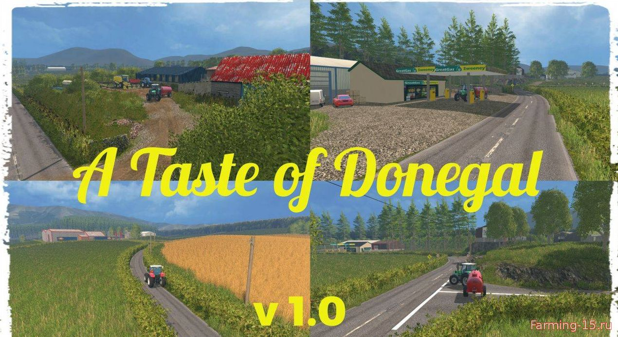 Карты для Карта A Taste of Donegal v1.0 для Farming Simulator 2015