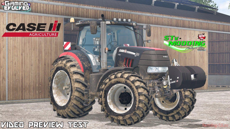 Тракторы для Мод трактор Case Puma 230CVX для Farming Simulator 2015