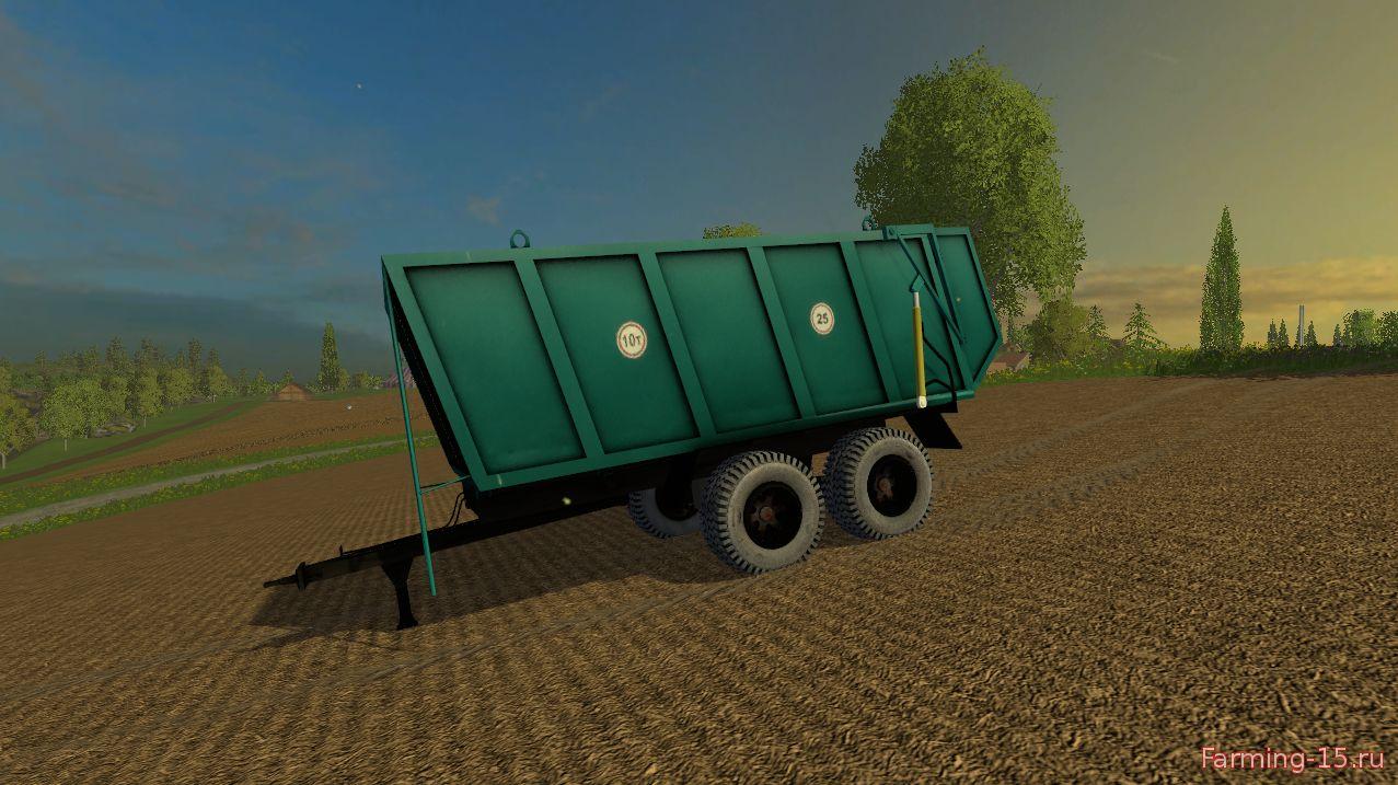 Русская техника для Мод прицеп ПС-10 для Farming Simulator 2015